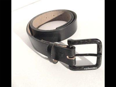 classic carbon belt